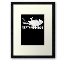 Death Records - Phantom of the Paradise Framed Print