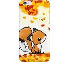 Fox in the Fall iPhone Case/Skin