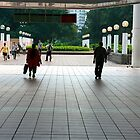 Subway entrance, Kowloon Park by Maggie Hegarty