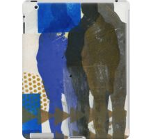 A Man and His Shadows iPad Case/Skin