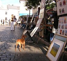 Parisian Dog by GlobalCandy