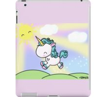 Prancing Unicorn iPad Case/Skin