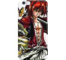 Kenshin with Arcanine  iPhone Case/Skin