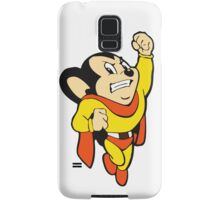 Mighty Mouse - Here I Come To Save The Day T Shirt Samsung Galaxy Case/Skin