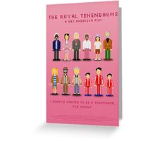 The Royal Pixelbaums Greeting Card