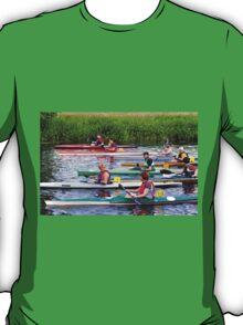 Burton Canoe Race, The Start T-Shirt