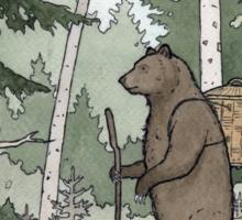 Bear in the Woods Sticker