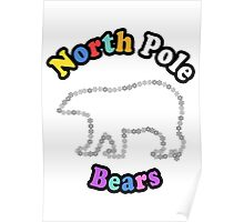 North Pole Bears Poster