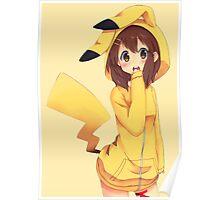 K-ON x Pikachu Poster