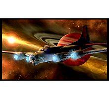 Space Ship B17  Photographic Print
