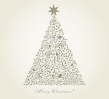 Musical Christmas tree by Aleksander1