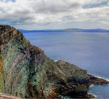 Colorful Rocks At Sheeps Head by CptSmee