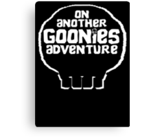 On another Goonies Adventure Canvas Print