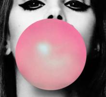 Lana Gum - WHITE Sticker