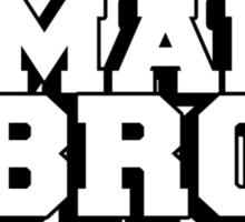 U mad bro? Are you mad bro? Sticker
