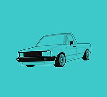 VW Caddy  by RexDesigns