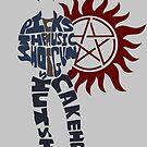 Dean Winchester by RebeccaMcGoran