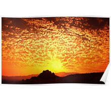 Northern Nevada Sunrise Poster