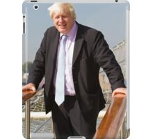 Mayor Boris Johnson marks Totally Thames with visit to TS Tenacious iPad Case/Skin