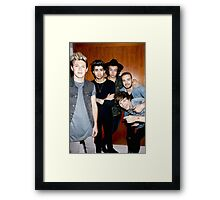 One Direction Framed Print