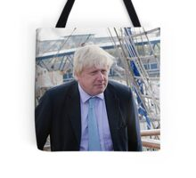 Mayor Boris Johnson marks Totally Thames with visit to TS Tenacious Tote Bag