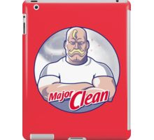 Major Clean iPad Case/Skin