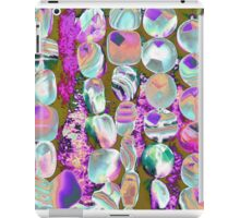 abstract colored stones iPad Case/Skin