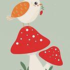 Autumn Bird by KarinBijlsma