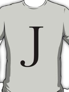 The Letter 'J' T-Shirt