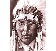 Cheyenne Chief Photographic Print
