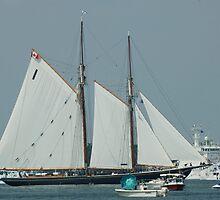 Sailing Boat in Norfolk by BravuraMedia