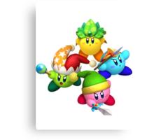 Four Kirbys Canvas Print