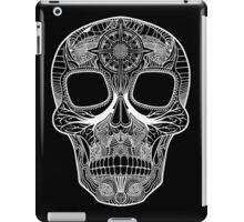 Inked Candy Skull - Journey - White iPad Case/Skin