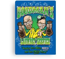 Goodman's Laundry Service Canvas Print