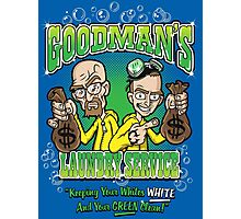 Goodman's Laundry Service Photographic Print