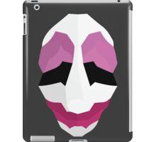 Jim Hoxworth - Payday Retro Mask iPad Case/Skin