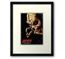 Evil Predator Poster Framed Print