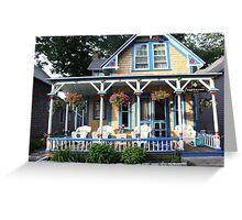 Gingerbread house. Greeting Card