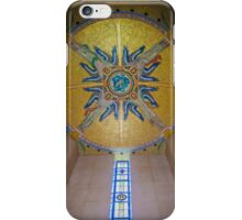 Luxembourg American Cemetery Memorial Ceiling Detail iPhone Case/Skin