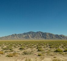 Middle of Nowhere, Nevada by dandeamer