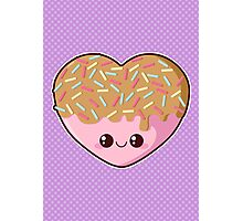 Sugar-Cute Heart Photographic Print