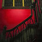 The Red Staircase by RC deWinter