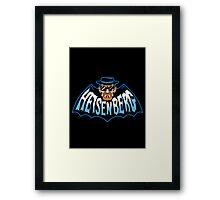 Heisenberg Man Framed Print
