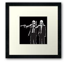 Pulp Fiction-Darth & Boba Hit Men Framed Print