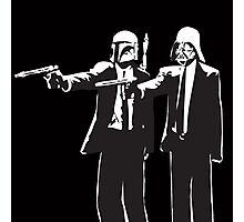 Pulp Fiction-Darth & Boba Hit Men Photographic Print