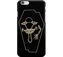 Laughing Coffin! iPhone Case/Skin