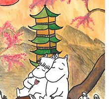 Moomin Love in Japan by adrawndisorder