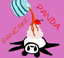 Pancake Panda w/ words by darkesknight