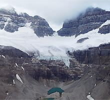 Snow covered Canadian Rockies by Funkylikeabee