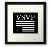 vsvp Framed Print